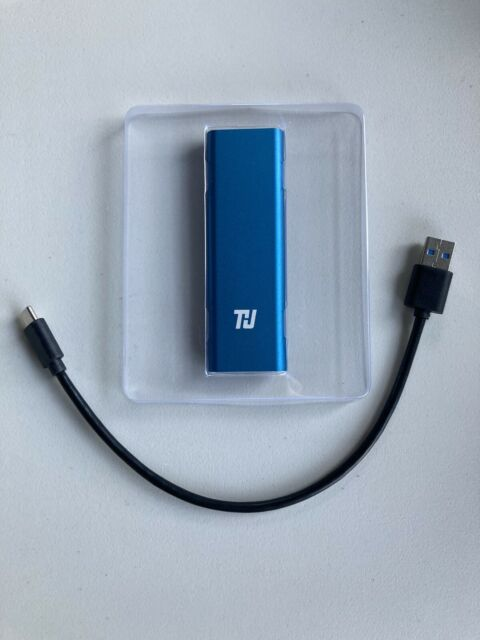 SSD Solid State External Drive 512gb NVME Usb 3.0
