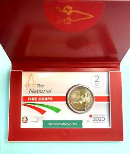 ITALIA-moneta-2-Corpo-Nazionale-dei-Vigili-del-Fuoco-2020-Fdc-OFFERTA-OFFERTA