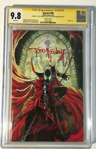Spawn-300-CGC-9-8-Signed-by-Todd-McFarlane-amp-J-Scott-Campbell-2x-Signatures