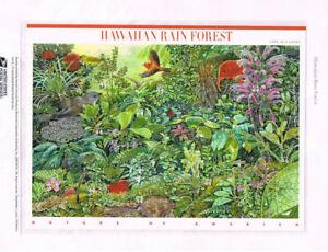 859-44c-Hawaiian-Rain-Forest-4474-USPS-Commemorative-Stamp-Panel
