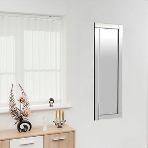 Blenheim Glass Framed Full Length Bevelled Floor Mirror 48\