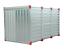 TUV-KOVOBEL-Blechcontainer-Lagercontainer-Baucontainer-Container-2-3-4-5-6m Indexbild 1
