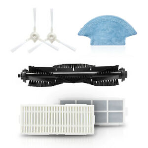 Main Brush Side Brush HEPA Filter Set for 360 S5 S7 Robot Vacuum Cleaner Parts
