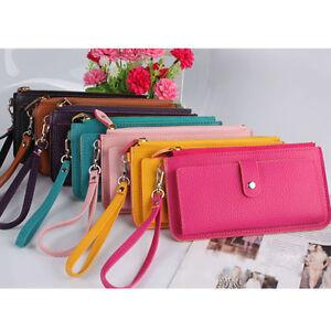 100-New-Women-Fashion-PU-Leather-Wallet-Clutch-Case-Purse-Lady-Long-Handbag-Bag