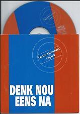 GUUS MEEUWIS - Denk nou eens na CD SINGLE 2TR CARDSLEEVE 2000 HOLLAND