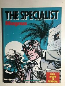 THE SPECIALIST Magnus Full Moon in Dendera (1987) Catalan Comics GN 1st VG+