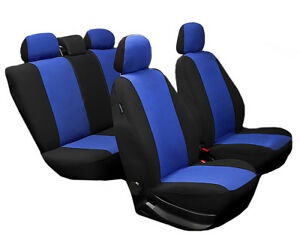 Auto & Motorrad: Teile Auto-Anbau- & -Zubehörteile Autositzbezüge Peugeot 308 Universal Blau Sitzbezüge Schonbezüge Sitzbezug Set