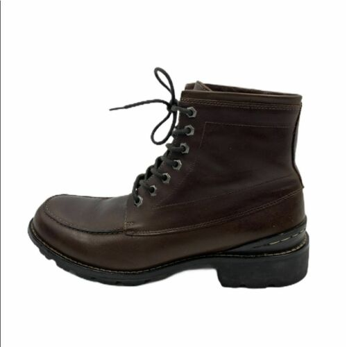 Banana Republic Lace Up Brown Boots Moccasin Style