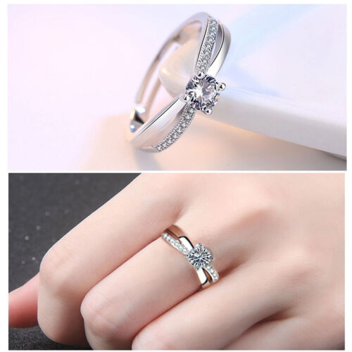 Toe Ring 925 Sterling Silver Adjustable Thumb Ring Knuckle Wishbone Ring Wedding