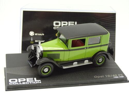 OPEL 10 40 ps 1925 grün Sonstige ixo Presse 1/43