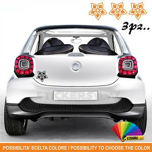 Kit-3-adesivi-Fiori-auto-moto-casco-scooter-Mod-16-decal-vinyl-flower