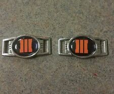 Call Of Duty 3 COD Paracrod Shoe Lace Charms SOLD IN PAIRS style 4