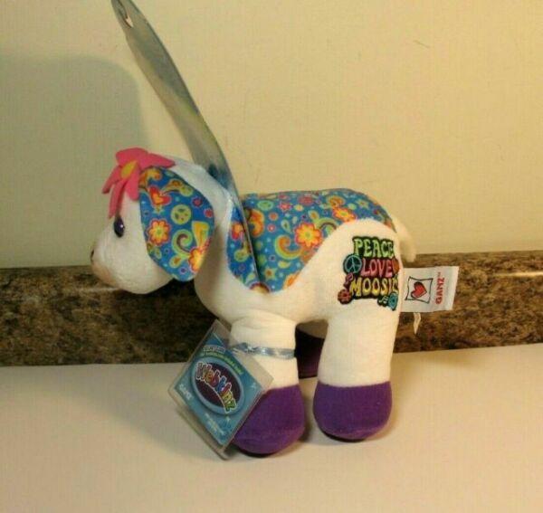 Rockerz Love Moosic Cow Full Size 8.5in Webkinz With Code ...