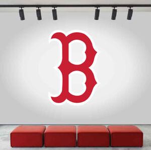 Boston Red Sox Logo Wall Decal Baseball