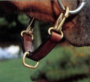 Angriff Beißen Für Dressur-Sattel Leather Kuppl. Anlage Für Bit Longierbrille