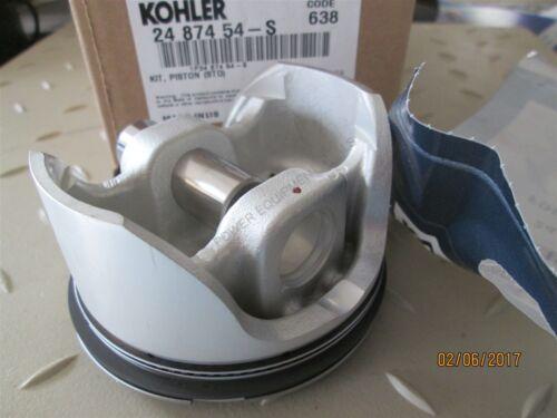Part # 24 874 54-S 674 CC Genuine Kohler PISTON KIT STD