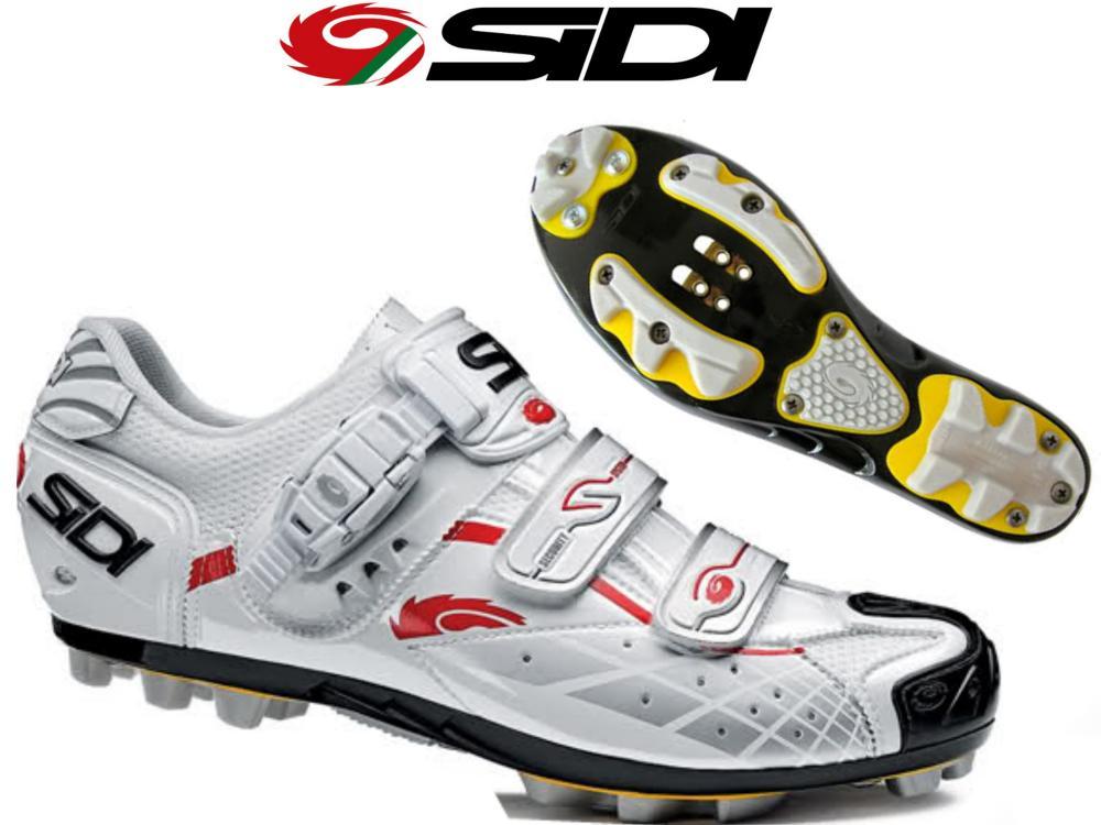 Chaussure Sidi SPIDER SRS Weiß Verni - T  41