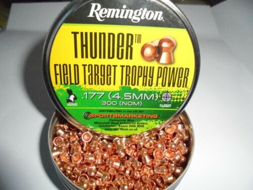 Remington Field Target trophey Power .177 4.5 mm airifle PELLET X 50 Pacco Campione