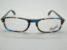c47deb8da61d Authentic PERSOL 3035-V 973 Blue Brown Havana RX Eyeglasses 51mm w  Case