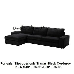 Image is loading IKEA-COVER-for-IKEA-KIVIK-Sofa-with-Chaise-  sc 1 st  eBay : ikea kivik sofa and chaise lounge - Sectionals, Sofas & Couches