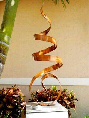 Copper Metal Art Garden Sculpture Yard Art Indoor Outdoor Decor by Jon Allen