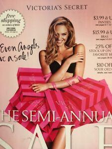 Victoria secret semi annual sale catalog