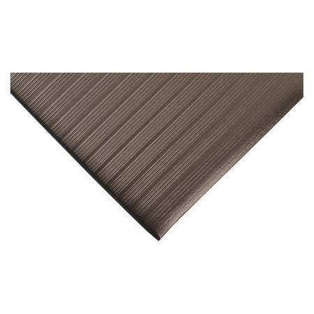 x 5ft. CONDOR 39R809 Antifatigue Mat,Black,3ft