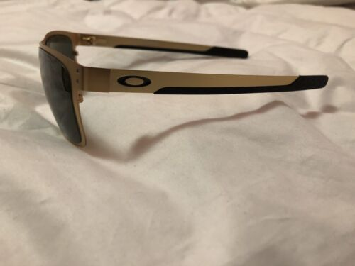 5727b3d9c Oo4123 0855 Oakley Holbrook Metal Gold Stain/dark Gray Sunglasses for sale  online | eBay