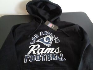 LOS-ANGELES-RAMS-Football-MAJESTIC-Pullover-LARGE-Hoodie-NEW-Free-Shipping-NFL