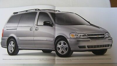 2004 chevrolet venture van full color brochure catalog booklet new 27 pages ebay ebay