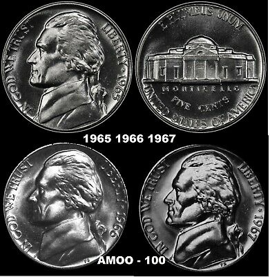 1966 Jefferson Nickel SMS