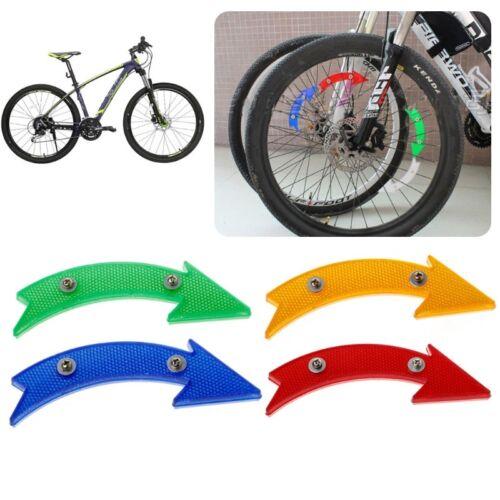 MTB Road Bicycle Bike Reflector Cycling Arrow Shape Safe Warning Accessories