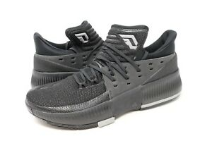 sports shoes d2668 e4858 Image is loading Adidas-Dame-3-D-Lillard-Basketball-Shoes-Low-
