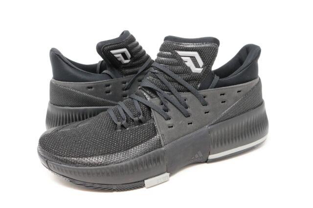 794290576c77 Adidas Dame 3 D Lillard Basketball Shoes Low Black BY3206 Size 11.5 ...