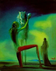 Death Knights By Salvador Dali Painting Artwork Paint By Numbers Kit DIY