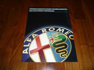 Alfa-Romeo-Gesamt-Prospekt-09-1993-Alfa-33-Giulietta-Alfetta-6-Spider