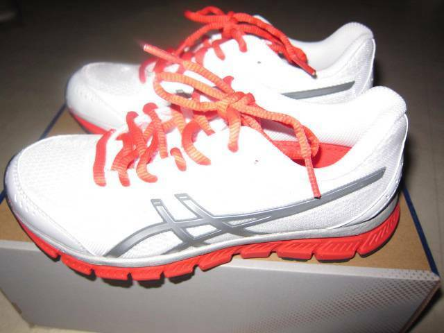 634add053f12 ASICS GEL Flash White Lighting poppy Womens Shoes T2j5n 0191 Sz 6 - for sale  online