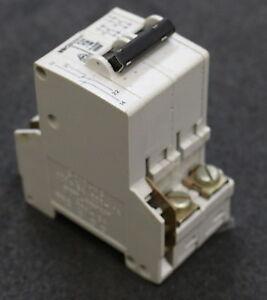 BBC-Sicherungsautomat-S212UC-Z-3A-circuit-breaker-2-polig-inklusive-S210-HS-S212