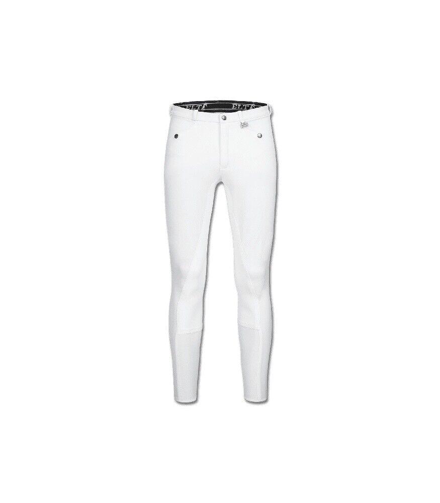 Uomo Pantaloni Montala guarnizione in pieno MICRO classeIC ELT Bianco nuovo