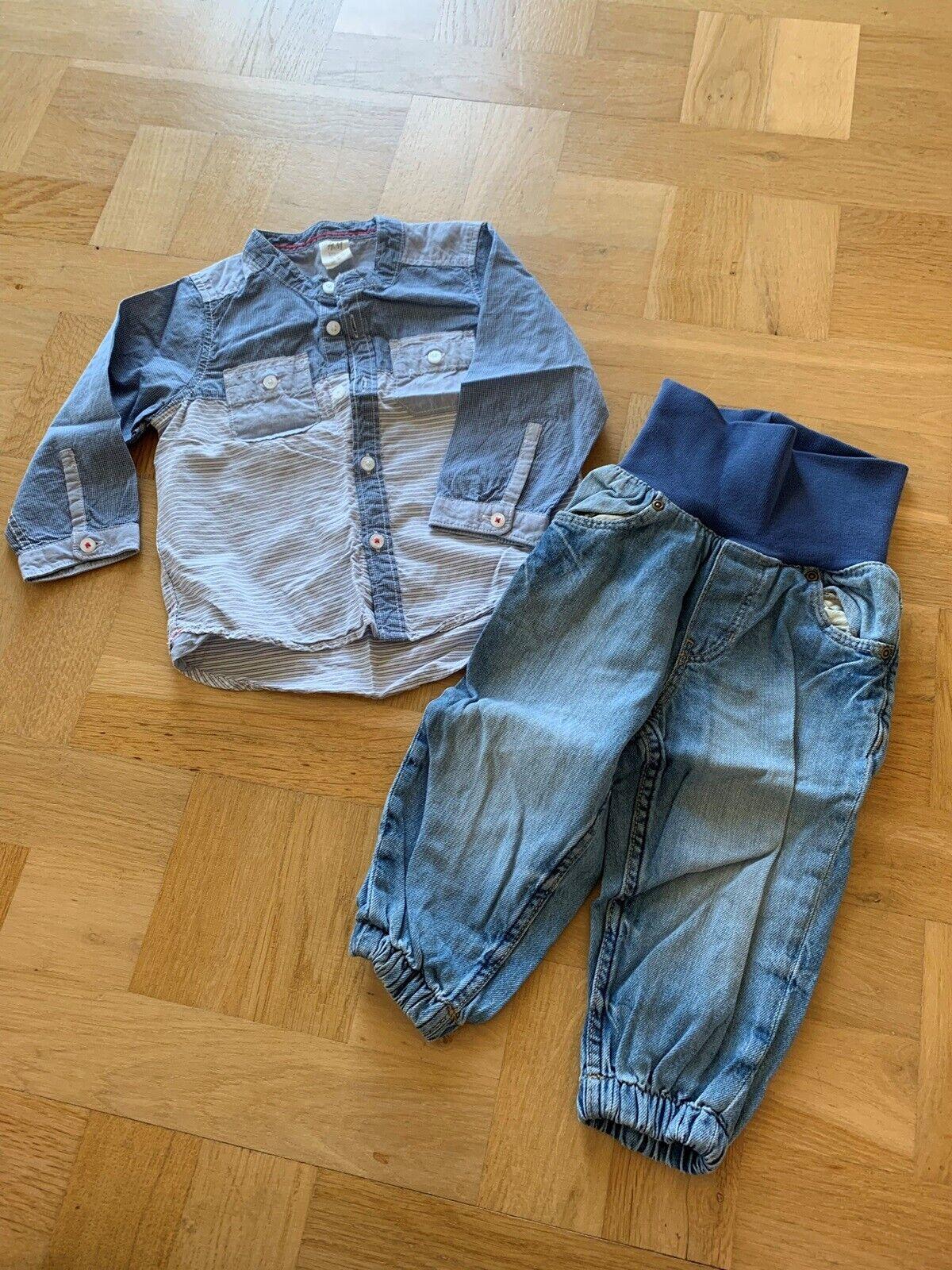 Sæt, Skjorte,bukser, H&M