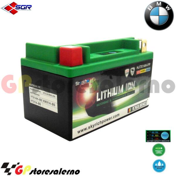 06750144sr Batteria Litio Skyrich Potente Ytx14-bs Bmw 650 F Gs 2011 In Veel Stijlen
