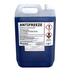 BLUE-ANTIFREEZE-amp-COOLANT-5-LITRE-37-C-High-Concentrate-Longlife-5L