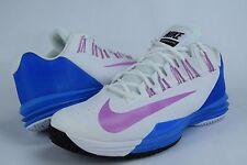 Mens Nike Lunar Ballistec sz 12.5 631653 154 white tennis shoes rafael nadal iii