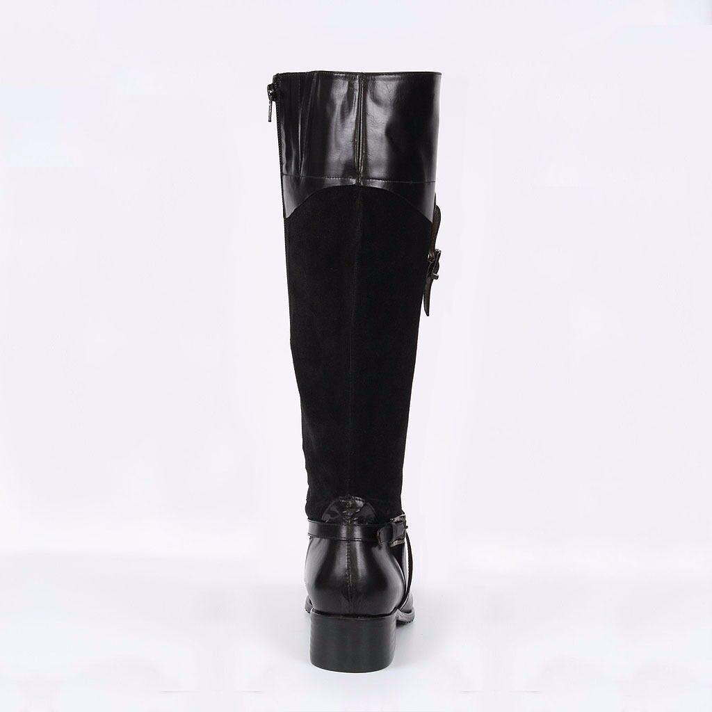 AURA BLANC Chaussures Femmes Bottines Bottes Elegant Bottines Femmes Boots Neuf Cuir 37 40 503f48