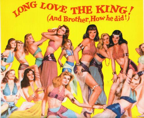 SEXY BABES artwork original 1956 14x36 movie poster ABDULLAH'S HAREM/KAY KENDALL