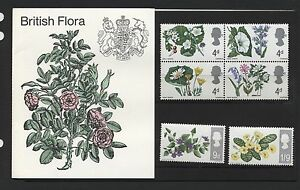 1967-FLOWERS-PRESENTATION-PACK-SG-717-22