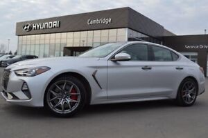 2020 Genesis G70 3.3T Sport LOW KMS!! ROOF LEATHER 