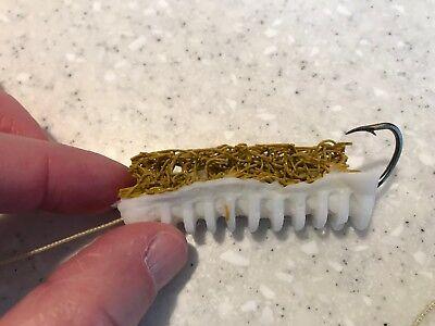 12 Pack Custom Color Skettiback Catfish Dip Bait Stinkbait Worms w Single Hook