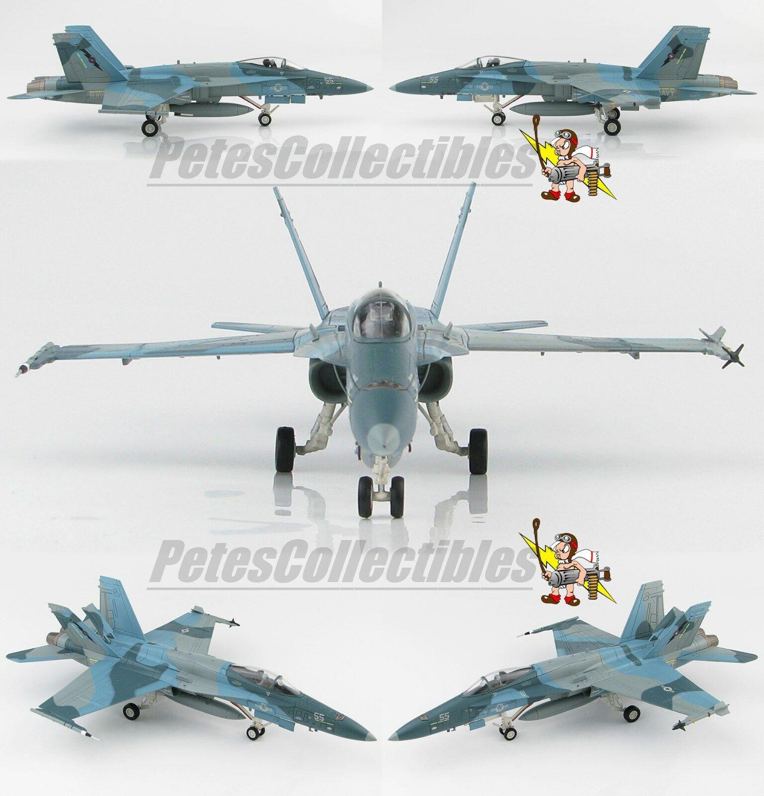Hobby Master HA3544 McDonnell  Douglas F A-18A Hornet Buno 162875, NSAWC 55 1 72  confortablement