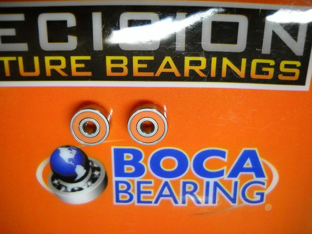 Boca orange Seal ABEC7 Bearings - Casitas HG & MGL  100-101-150-151